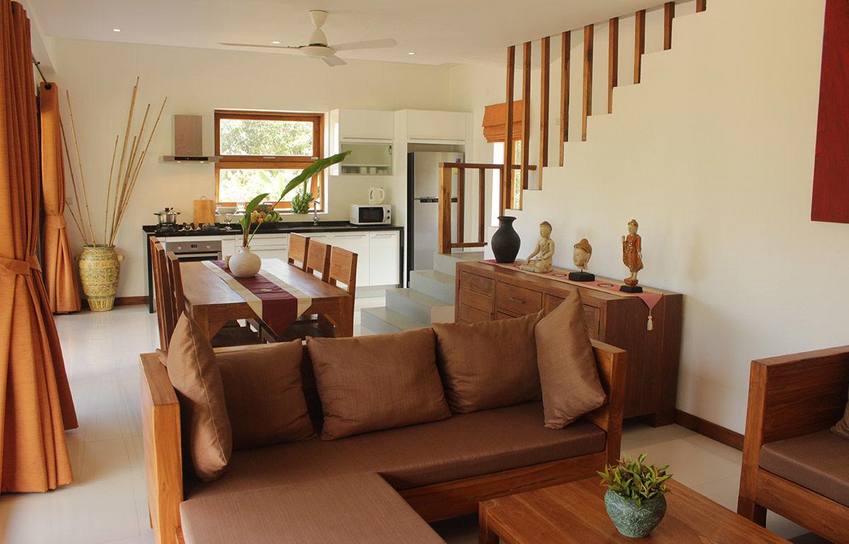 Koh Samui Luxuri Villas With Large Comfortable Lounge